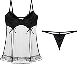 Lingerie Lace Babydoll & Playsuit For Women Sexy