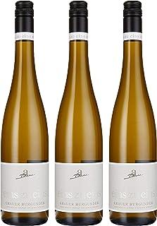 Weingut Diehl Grauer Burgunder eins zu eins Kabinett trocken 3 x 0.75 l