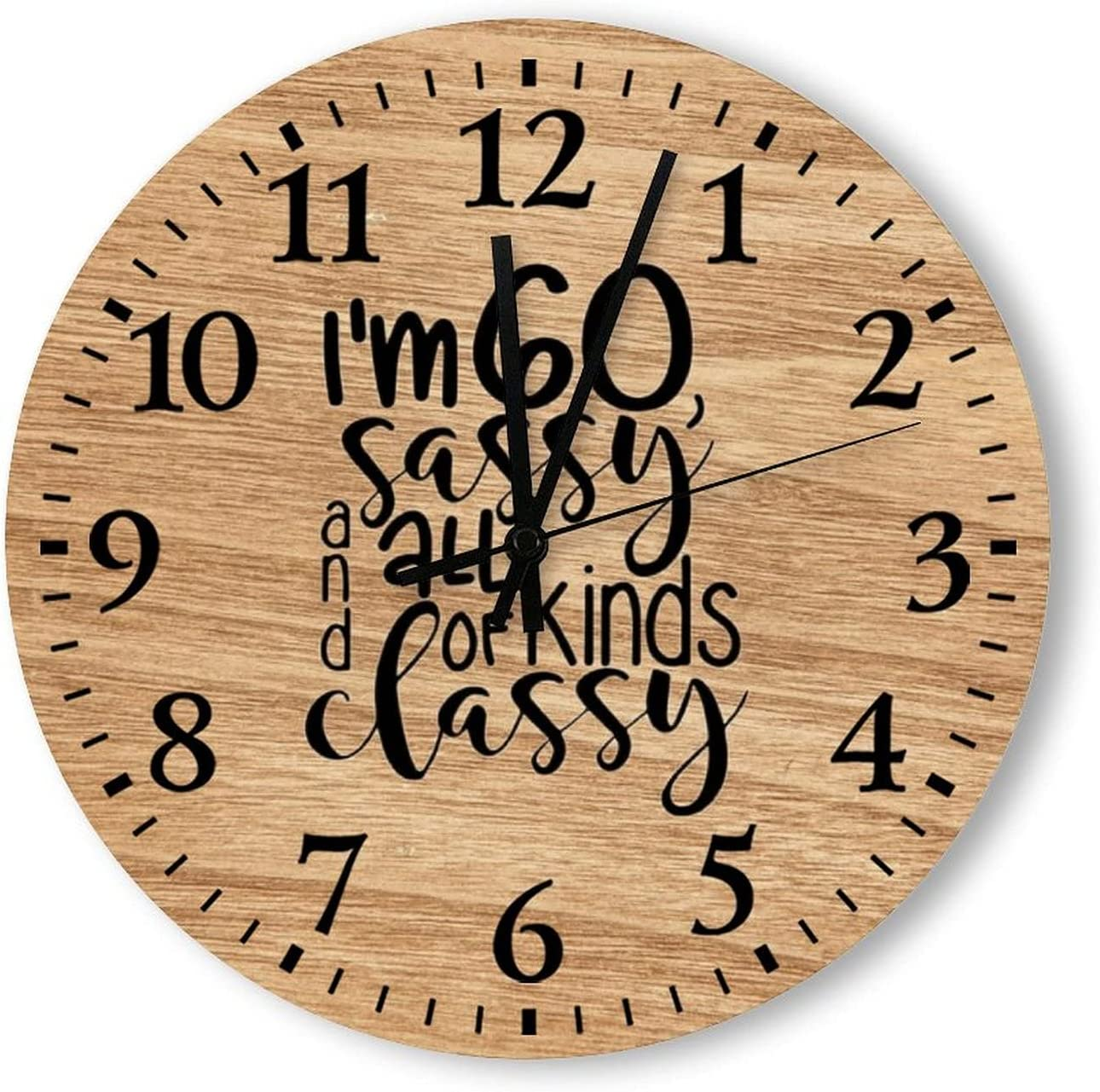 Wood Wall Clock Popular brand - I'm Ranking TOP7 60 Sassy and 14 of Classy All inc Kinds 12