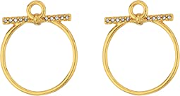 Front Facing Hoop Earrings