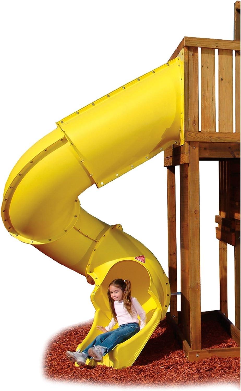 SwingNSlide Turbo Tube Slide, Yellow