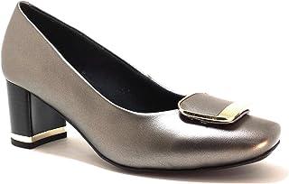 hype Women's Block Heel Formal and Business Shoe ZD10952