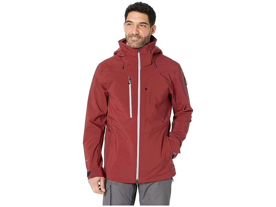 Obermeyer Foracker Shell Jacket (Major Red) Men