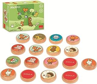 comprar comparacion Goula and his Forest Friends Memo Tom y sus amigos del bosque, multicolor (53435) , color/modelo surtido