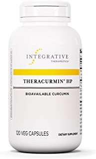 Theracurmin HP - Turmeric, Curcumin Supplement - 27x More Bioavailable - High Absorption Turmeric - Relief of Minor Pain D...