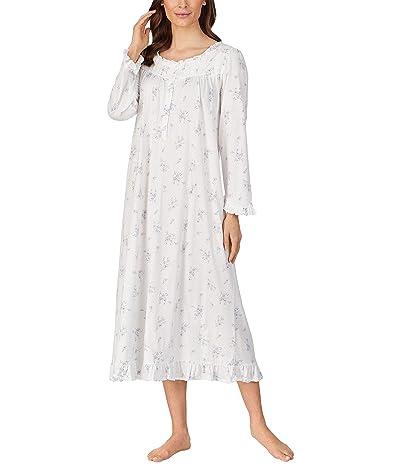 Eileen West Long Sleeve Ballet Nightgown (Pink Multi) Women