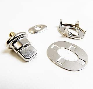 DOT Twist Lock Barrel Stud w/Backing Plate, Common Sense Eyelet & Heavy Duty Clinch Plate 1 Piece Set