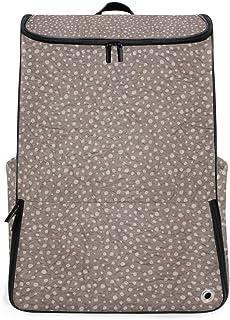 MALPLENA Mochila de Senderismo para Camping al Aire Libre, Color marrón, Fondo de Papel Arrugado, Mochila de Viaje