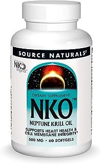 Source Naturals NKO Neptune Krill Oil 500mg - 60 Softgels