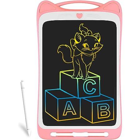 Richgv LCD Writing Tablet,12 Pollici Colorato Elettronico Tablet Tavoletta Grafica Digitale Scrittura, Ewriter Paperless Disegno Pad con Memoria di Blocco per Bambini Della Casa Scuola (Rosa)…