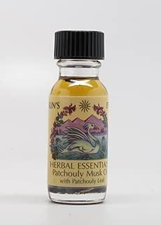 Patchouli Musk - Sun's Eye Herbal Essential Oils - 1/2 Ounce Bottle