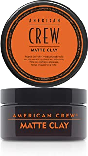 American Crew Men Matte Clay (Pilable Hold with Matte Finish) 85g/3oz