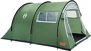 Coleman Coastline Tienda de campaña de túnes para Camping o Festivales, Acampada, Familiar, Impermeable hasta 3000mm de Columna de Agua, Color Verde