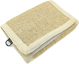 Atrangi Unisex Fabric 3 Fold Wallet (Beige)