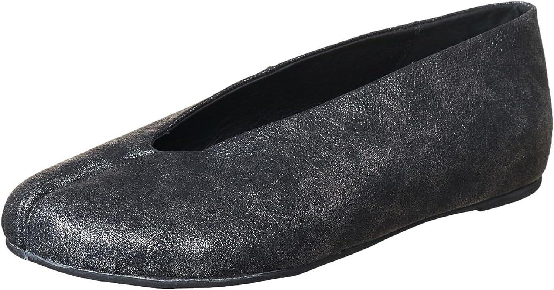 Antelope Women's 107 Metallic Leather Hi-V Ballet shoes - Pebbled