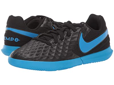 Nike Kids Jr Legend 8 Club IC Soccer (Toddler/Little Kid/Big Kid) (Black/Blue Hero) Kids Shoes