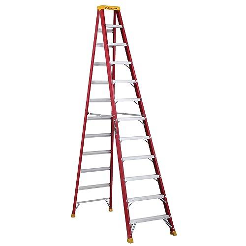 12 Foot Step Ladders: Amazon com