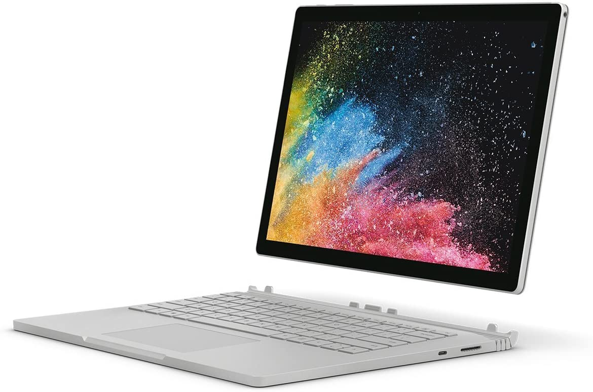 "Microsoft Surface Book 2, 128GB, 13.5"", Windows 10 Pro, Core i5, 8GB RAM -Silver"