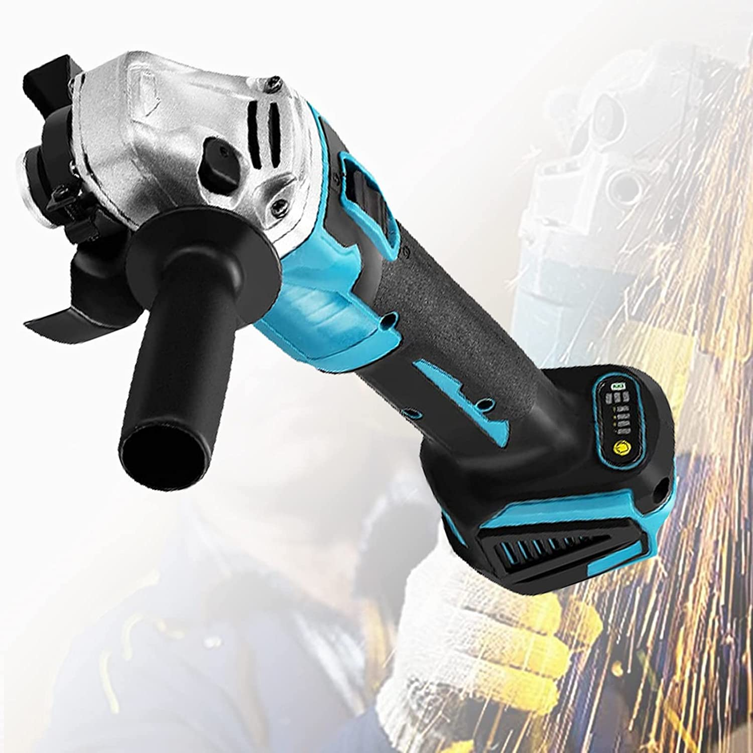 ZPCSAWA Max 66% OFF Professional Electric Over item handling ☆ Angle Grinder Power Rem High 800W