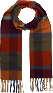 """Beautiful Nomad Pashmina Shawl Wrap Scarf Bandanas in Solid and Plaid Pattern Lake Como Scarves Italian Silk Like Microfiber Square Scarf Bandanas for Women Men, Washable Cloth Neck Gaiters Cool Face Scarf Rave Covers with Ear Loops 1 Pice Lake Como Scarves - Love Hearts Silk Bandana Scarf 21"""" x21"""" Accessories First Colorblock Scarf - Fashionable Womens Acrylic Woven Scarf with Twisted Fringes"""