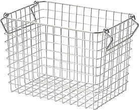Muji 18-8 Stainless Wire Basket 1, 26 x 18 x 18cm