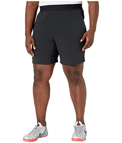 Nike Big Tall Flex Shorts Active (Black/Black/Iron Grey) Men