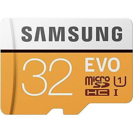 Samsung EVO 32 GB microSDHC UHS-I U1 95 MB/s Full HD Memory Card with Adapter (MB-MP32GA)