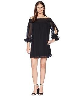 Shiloh - Off the Shoulder Smocked Dress