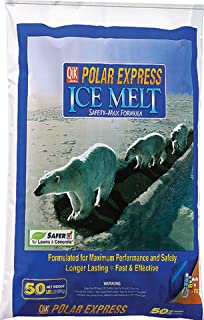 Polar Express Ice Melter Bag Works Effectively Down To -15 Degrees 50 Lbs