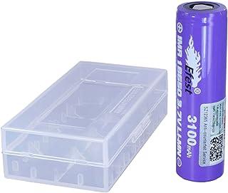 Efest(イーフェスト) 【 電子タバコ用 】 Efest IMR18650 3100mAh 20A フラットトップ1本付バッテリーケース IMR18650 3100mAh 20A FT/Battery case