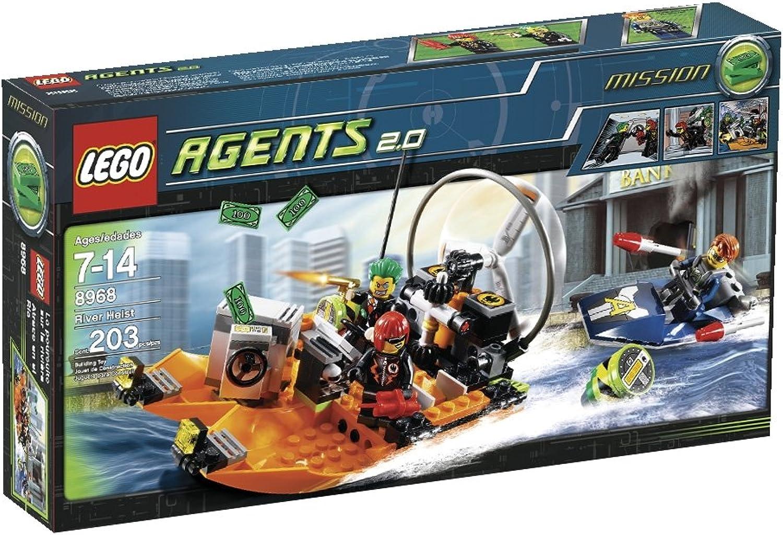 garantizado Agentes LEGO Río Río Río Heist (8968)  entrega rápida