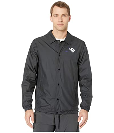 Nike SB Coaches Jacket (Black/Black/White) Men