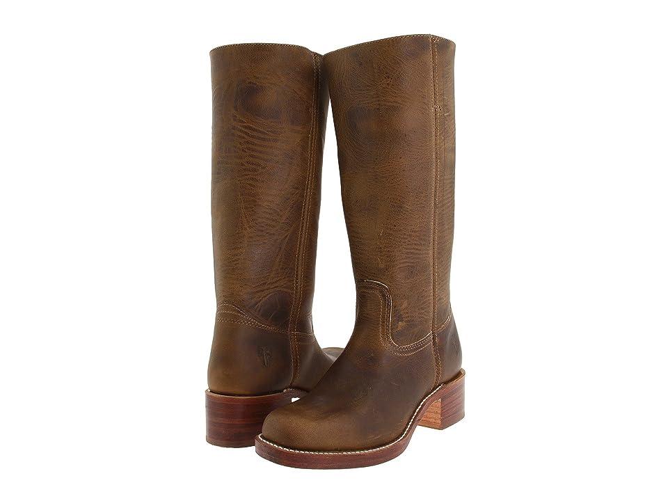 Frye Campus 14L (Dark Brown Leather) Cowboy Boots