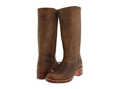 Frye Campus 14L (Dark Brown Leather) Cowboy Boots