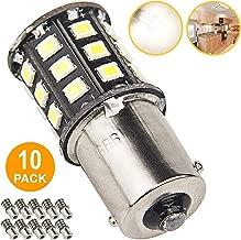 Super Bright 1156 1141 1003 LED Bulbs for Trailer Camper RV Interior Lighting, Car Back Up Reverse Lights, Brake Lights, Tail Lights, Rear Turn Signal Lights, (Pack of 10, 3500K Neutral White)