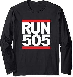 Run 505 Albuquerque NM Vintage Running Long Sleeve T-Shirt