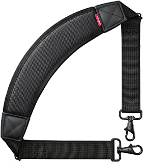サンワサプライ AIRセルショルダーベルト(カーブタイプ) バッグ用 肩掛け 負担軽減 BAG-BELT4N