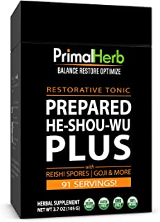 Primal Herb He Shou Wu Organic 91 Servings Aged
