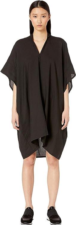 S-Mini Collar Flare Dress