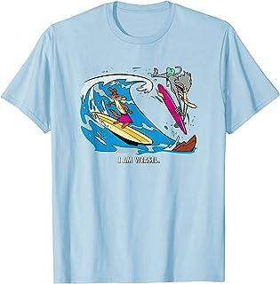 Cartoon Network I Am Weasel Surfing T-Shirt