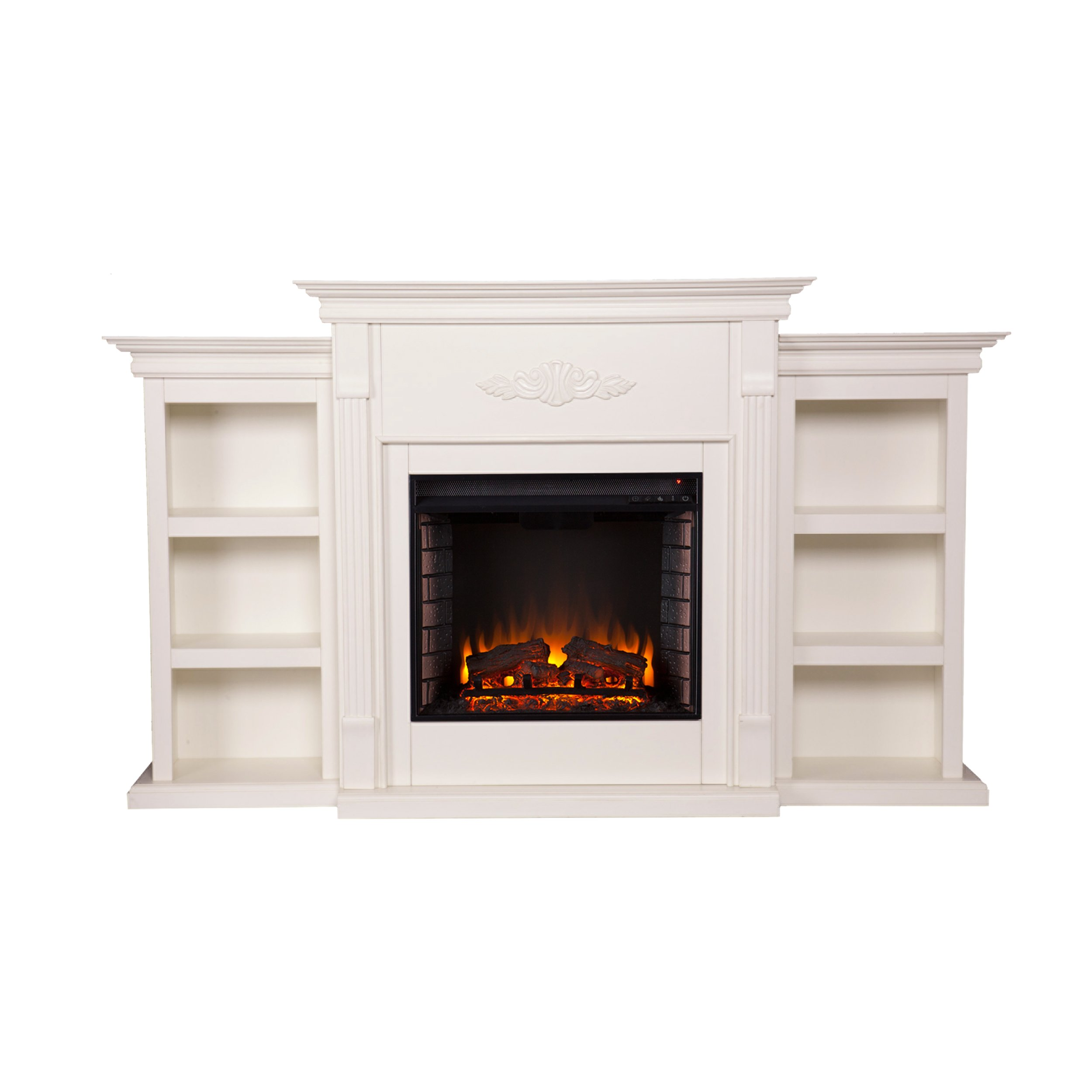 fireplace bookshelf amazon com rh amazon com Dimplex Electric Fireplace Insert Dimplex Linear Electric Fireplace