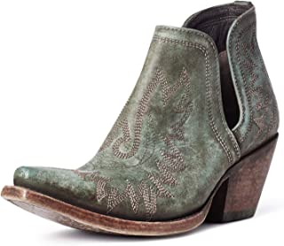 ARIAT Dixon Distressed Turquoise 7.5 B (M)