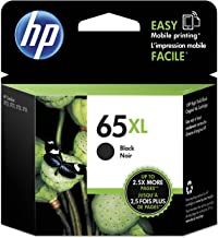 Original HP 65XL Black High-yield Ink Cartridge   Works with HP AMP 100 Series, HP DeskJet 2600, 3700 Series, HP ENVY 5000...