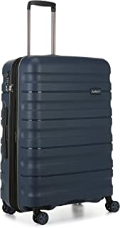 Antler 4227114016 Juno 2 4W Medium Roller Case Suitcases (Hardside), Navy, 68 cm