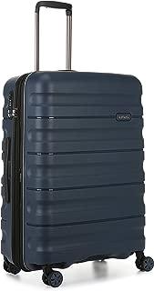 Antler 4227114016 Juno 2 4W Medium Roller Case Suitcases (Hardside), Navy, 68 cm