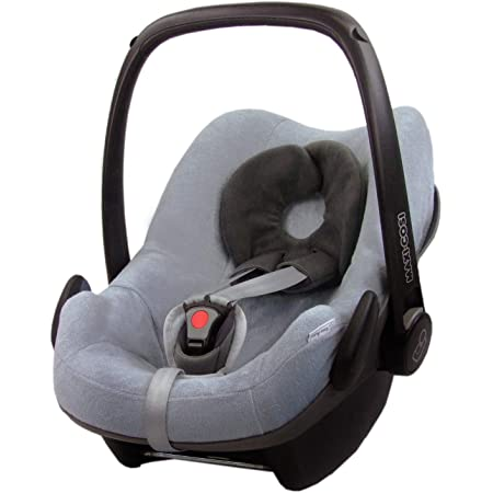 Bambiniwelt Ersatzbezug Für Maxi Cosi Pebble 5 Tlg Bezug Für Babyschale Komplett Set Grau Hellgrau Xx Baby