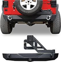 Best jeep wrangler rear bumper with tire carrier Reviews