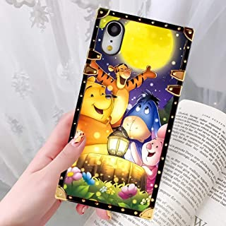 DISNEY COLLECTION Phone Case Fit for iPhone XR (6.1 inch) Verney with Friends Luxury Fashion Cool Cartoon Cute Bumper Shockproof Cover
