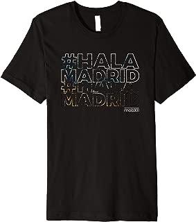 mobXII Hala Madrid Soccer Futbol T-shirt Men Women Kids