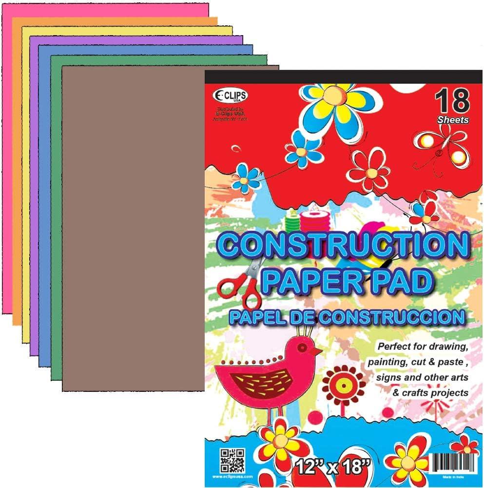 Max 59% OFF Construction Paper Pad Spasm price - x 12
